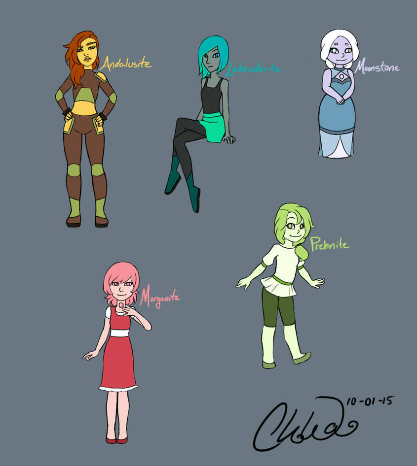 Gem OC Designs by NiveusUmbra