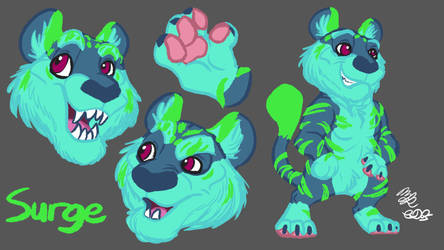 Surge Reference Sheet by Cookiedough-Gecko