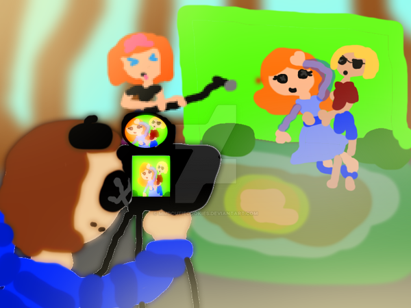 Lalaloopsy Visits the Youtube World by mmdcutiecookies