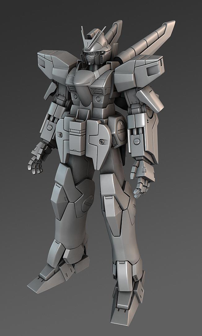 Victory 2 Gundam by Nshade3d