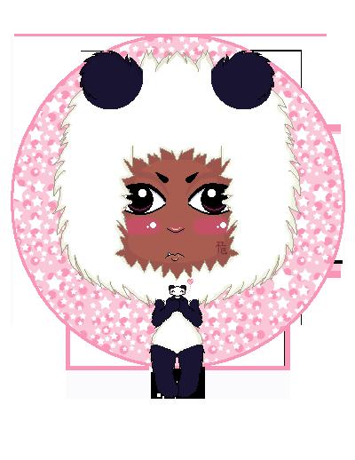 Pandas ID-PIXELARTulazyface by LittleKai