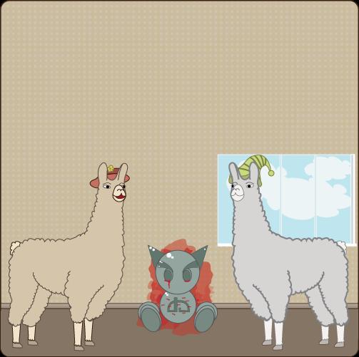 Llamas With Hats By XXbadgerXx On DeviantArt - Llamas with hats cruise ship