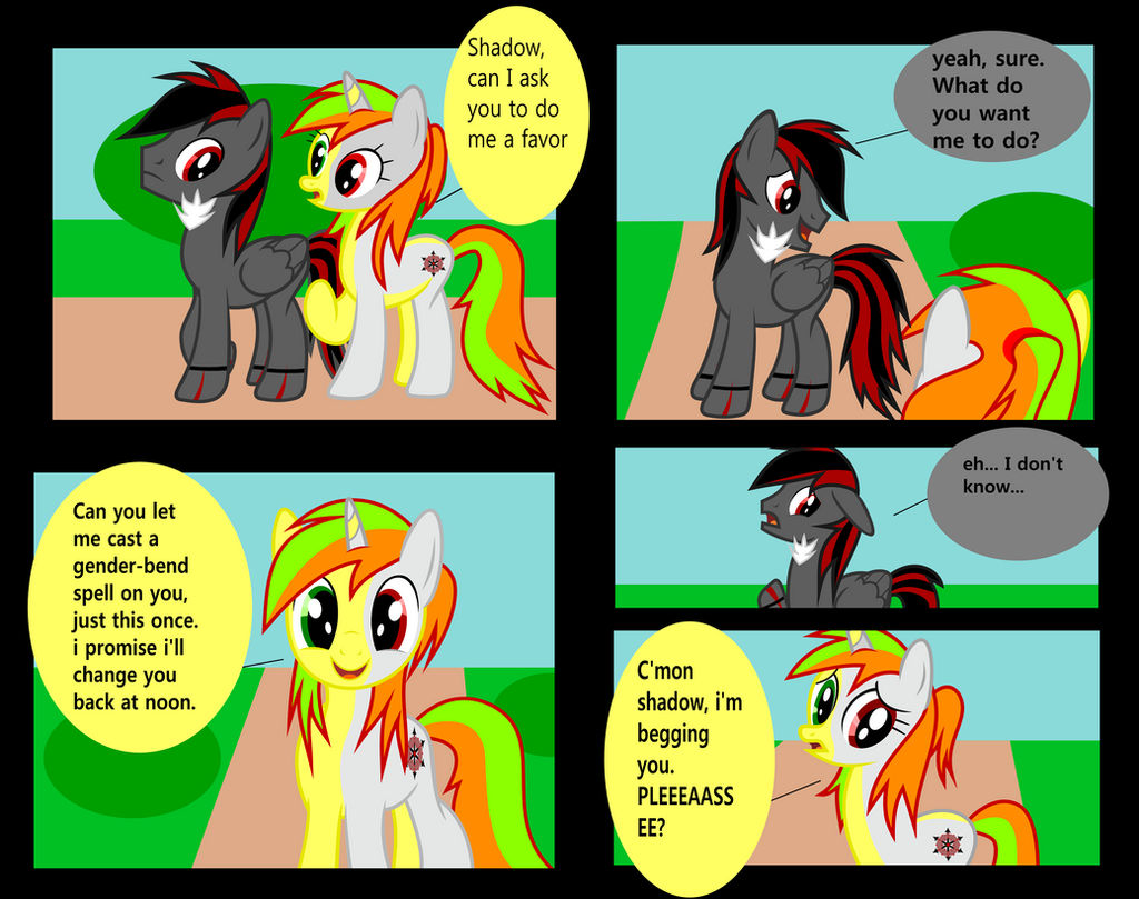Anon Mlp Comic mlp comic my little filly page 1mlpwreck12345 on deviantart