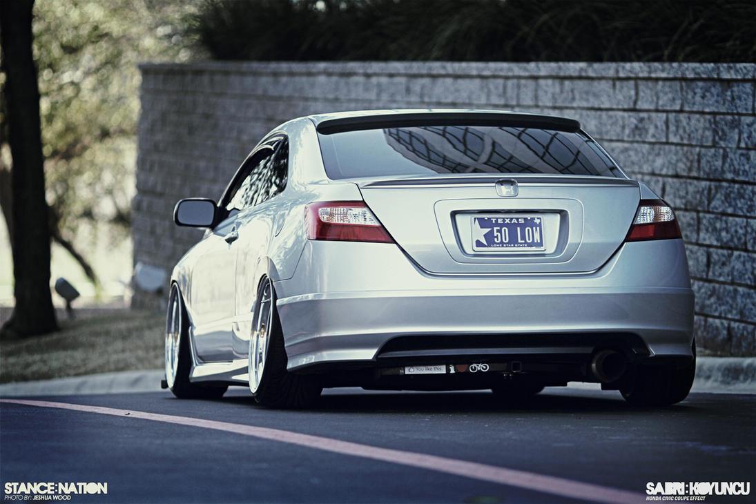 Honda Civic Coupe Wallpaper By CaR MaNiA ...