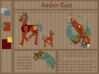 Comm: Amber Rust