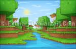 Minecraft ''a river''
