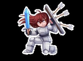 Armor Girl by Exunary