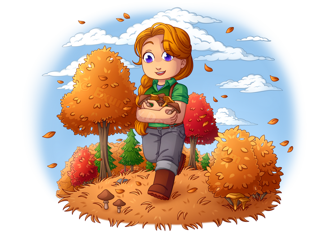 Stardew Valley - Leah by Exunary