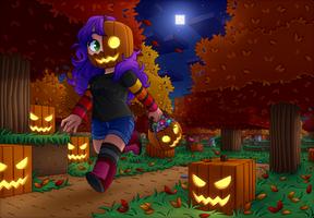 Minecraft - Happy Halloween! by Exunary