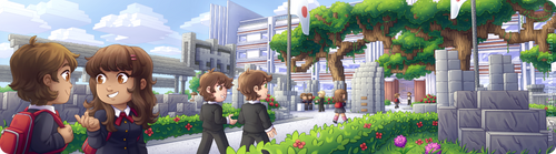 Commission - Minecraft Banner