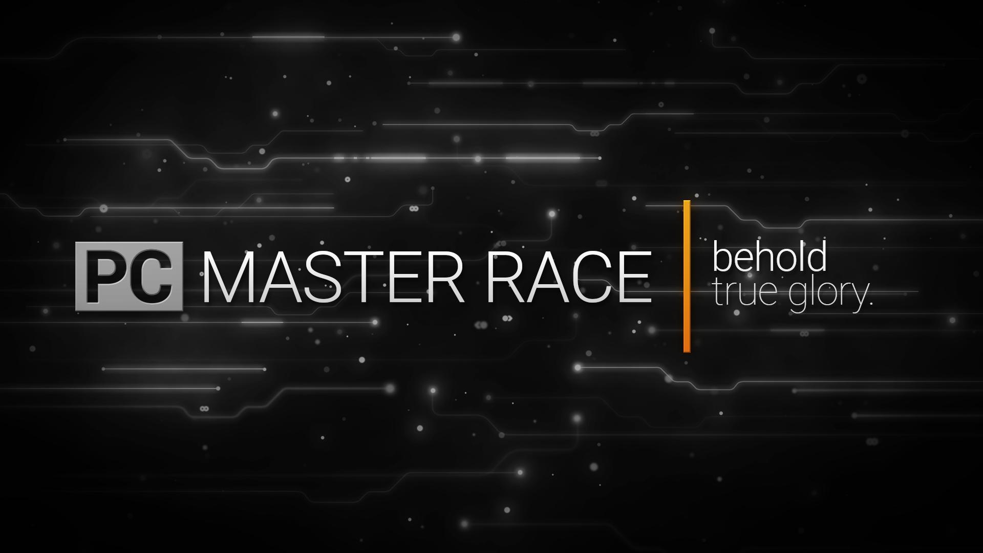PC Master Race Black'n White Wallpaper[ 1920x1080] By