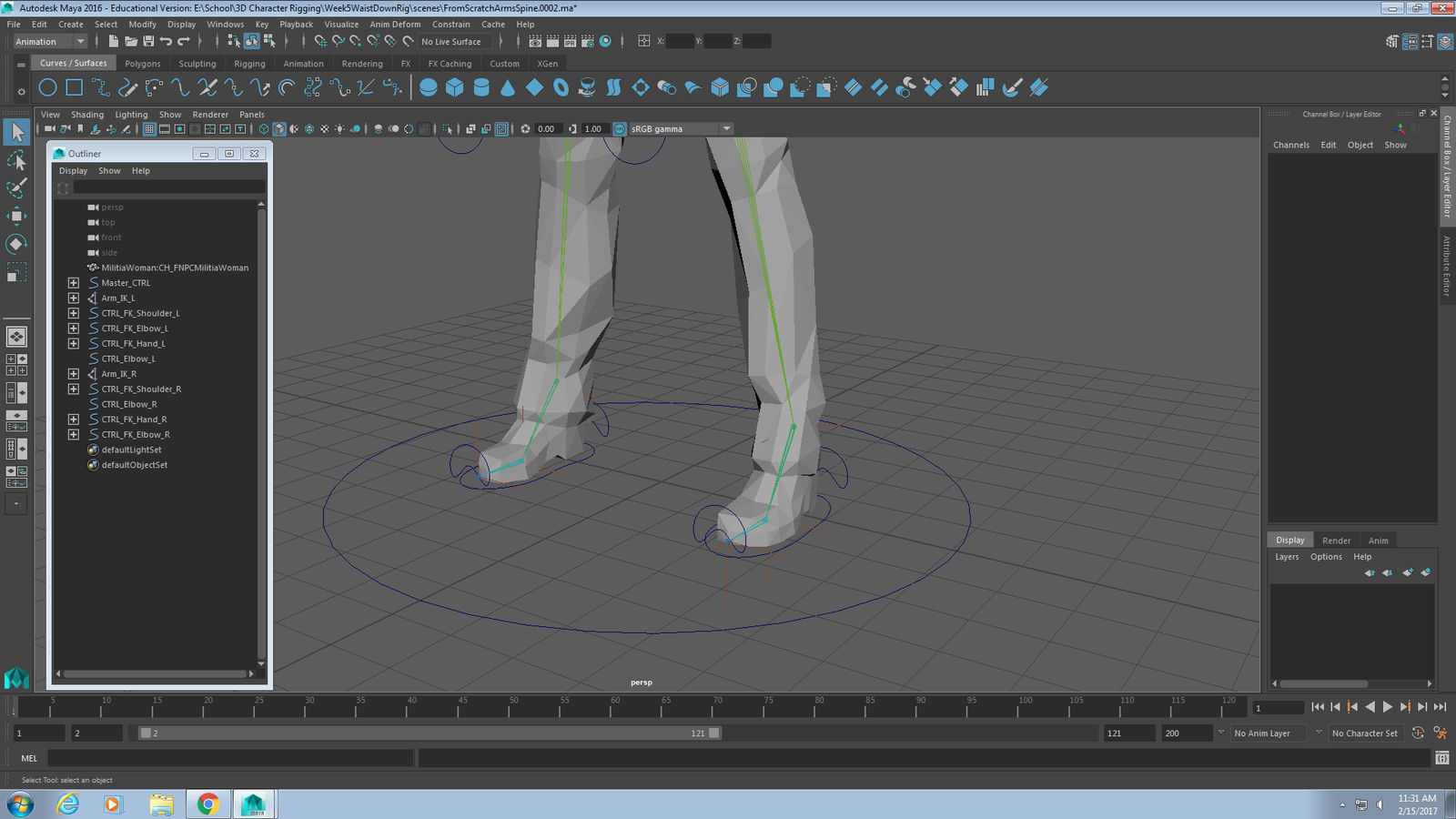 3D Character Rigging - From Scratch Rig 1 by DaniTheDealer