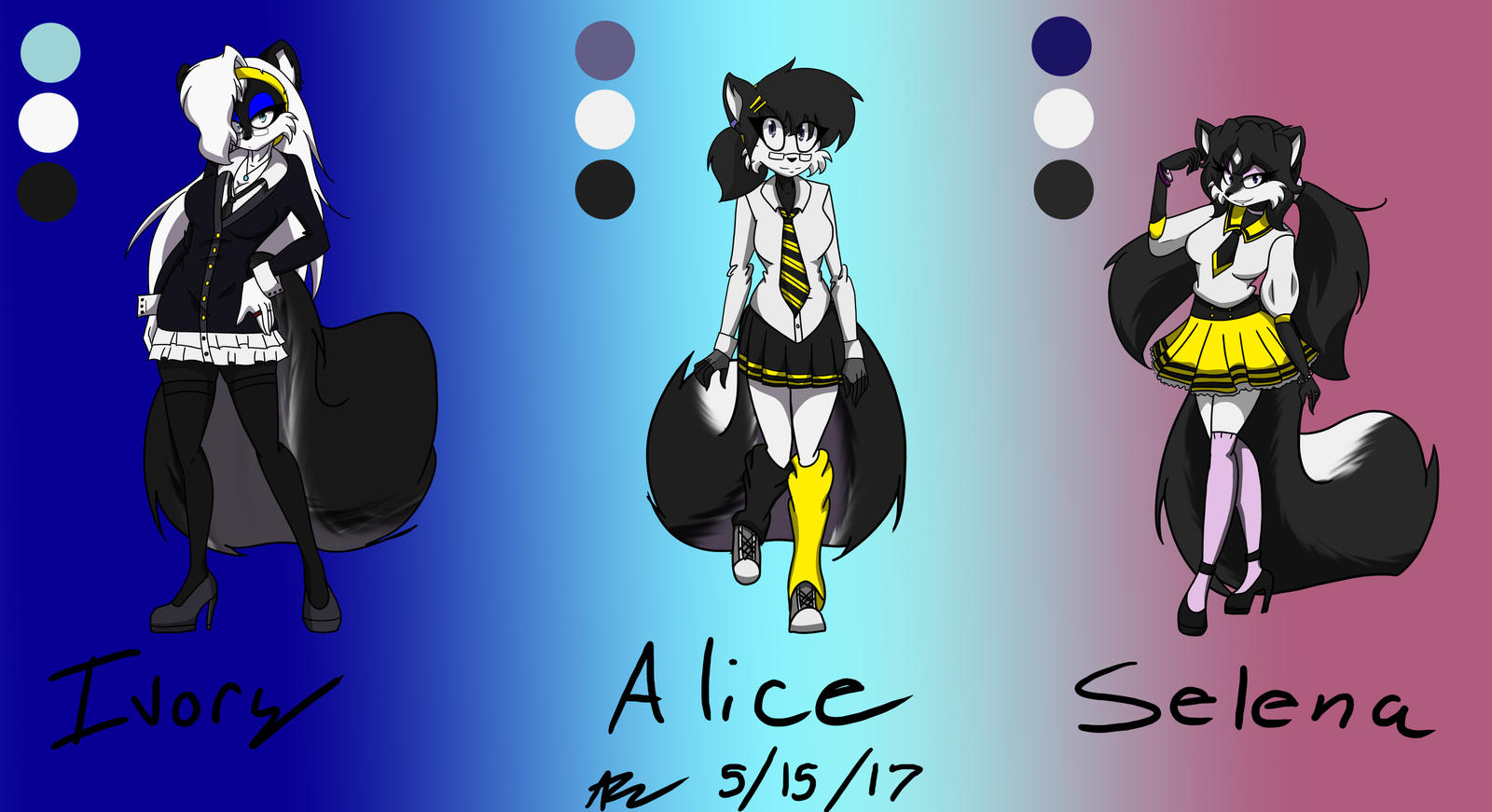 Animated Alice Angle Porn ivory, selena, and alice the skunksdanithedealer on