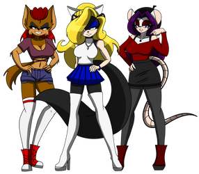 The Dani University Mean Queens by DaniTheDealer