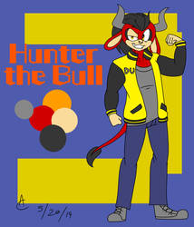 Hunter the Bull by DaniTheDealer