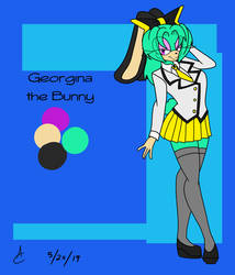 Georgina the Bunny by DaniTheDealer