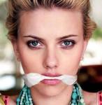 Scarlett Johansson Cleave Gagged