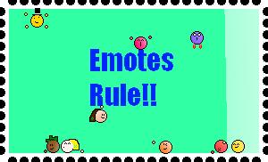 """""""Emote's rule"""" stamp by richalvrezfano12"""