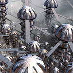 Planetary Colony by Aexion