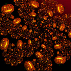 Halloween Fractal by Aexion