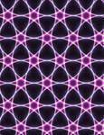 Hexagonal Neon Quilt