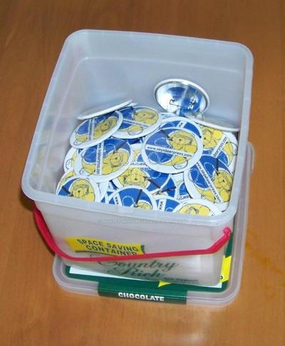 Bucket of Badges by master-ninjabear