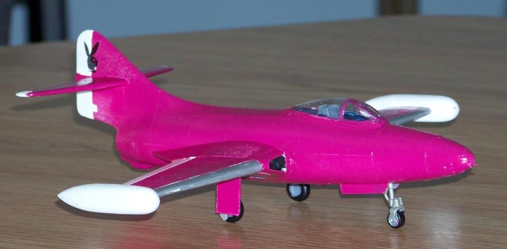 Pink Panther Jet by master-ninjabear
