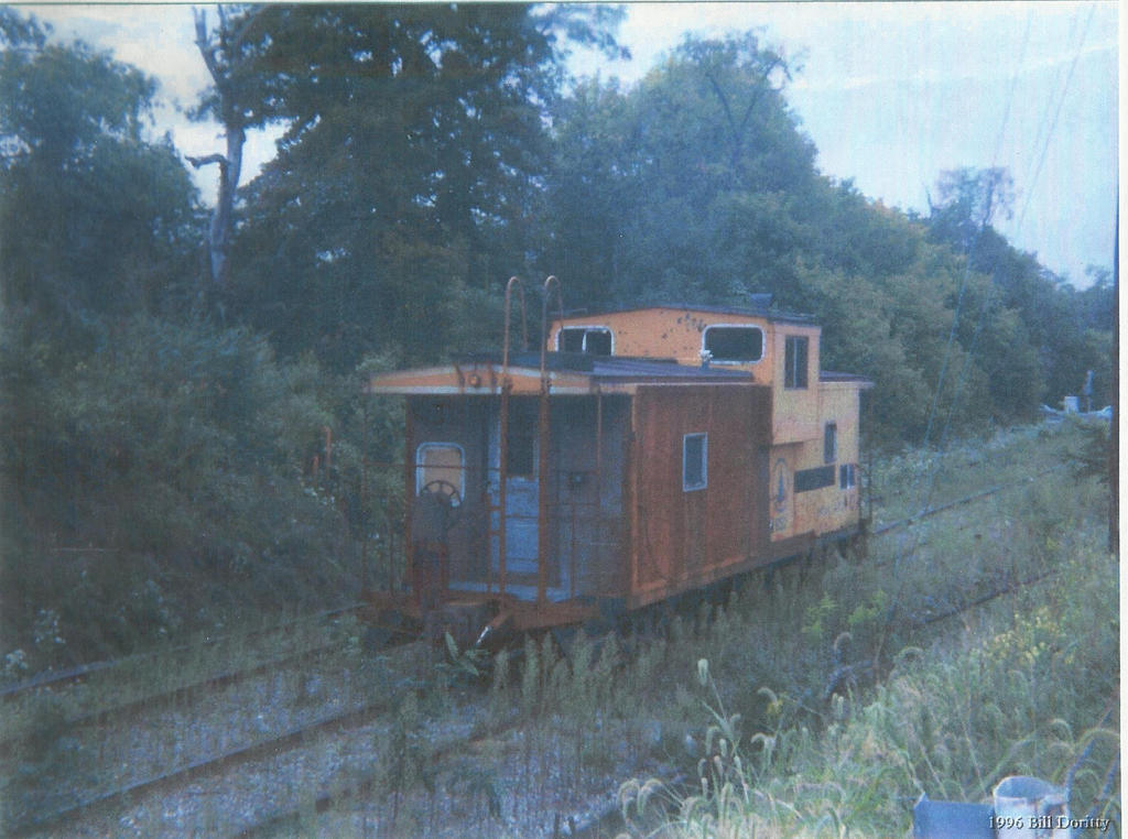 Old Caboose by master-ninjabear