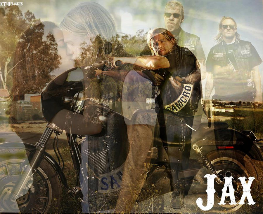 Sons Of Anarchy- Jax By TheKT3Helmets On DeviantArt