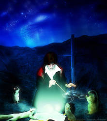 Lights of Halloween by Momotte2