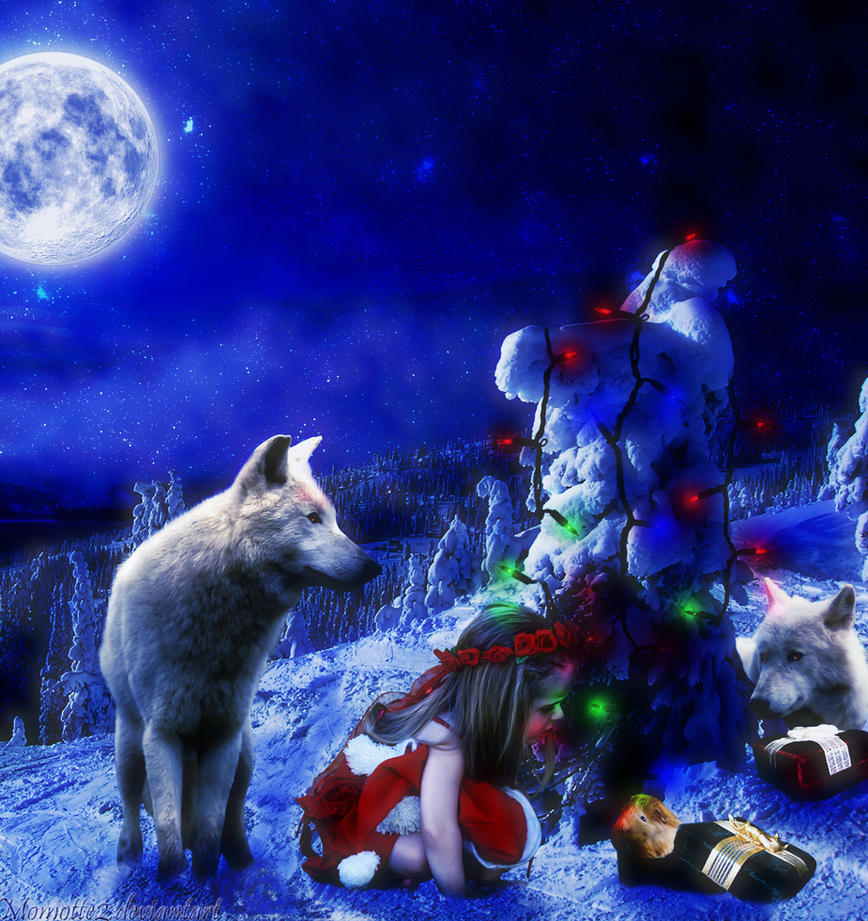 Christmas night by Momotte2