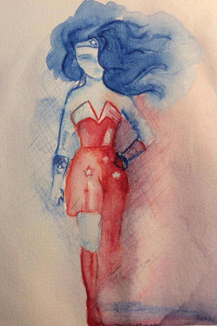 Trying out my new aquarelle pencils! by MarcoHauwert
