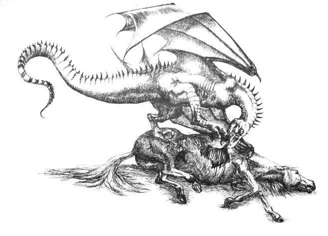 demonic looking animals