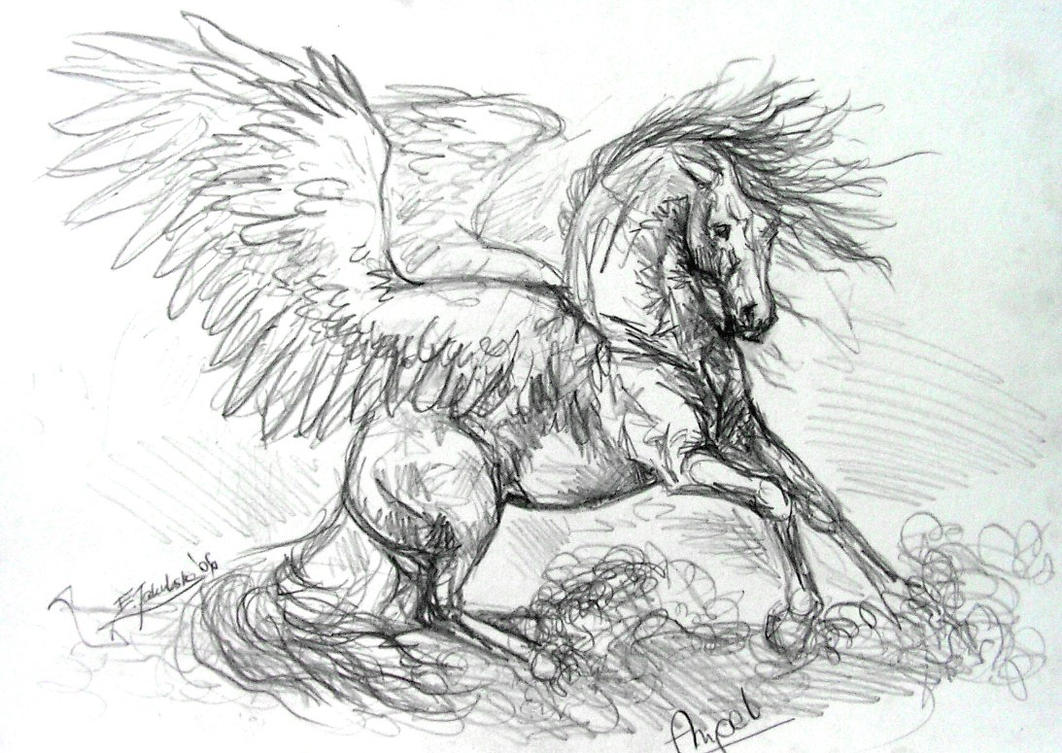 Angel by metzgermeisterrt