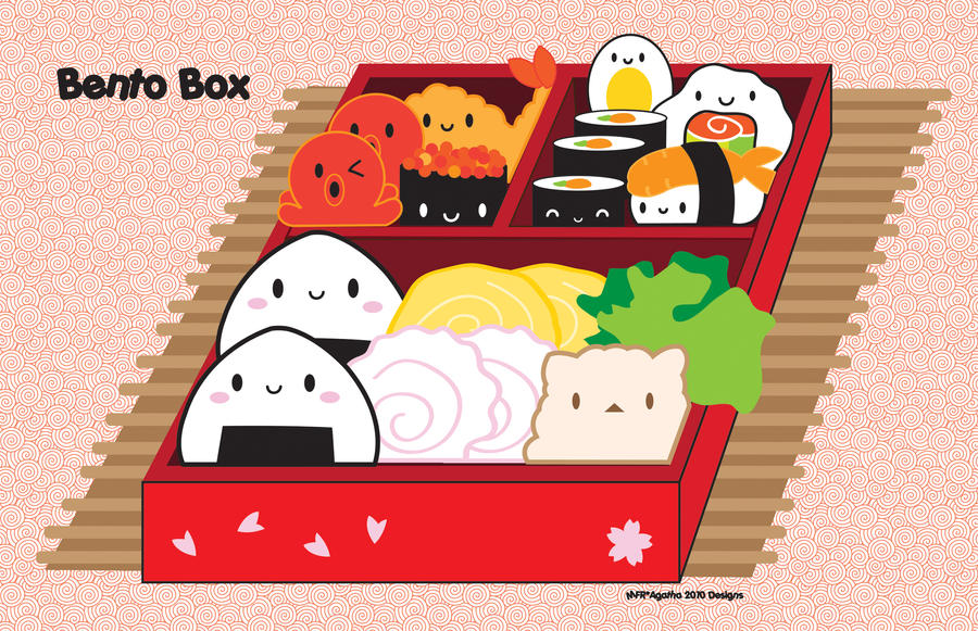 +Bento box+ by Vanilla00Sky