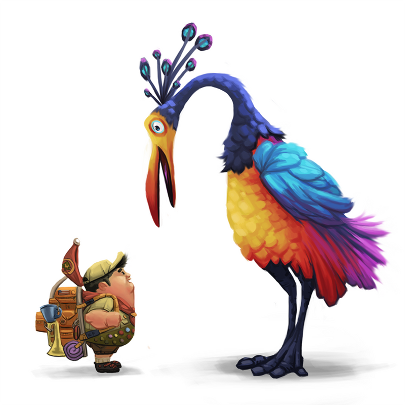 Kevin and Russell by antonio-panderas on DeviantArt
