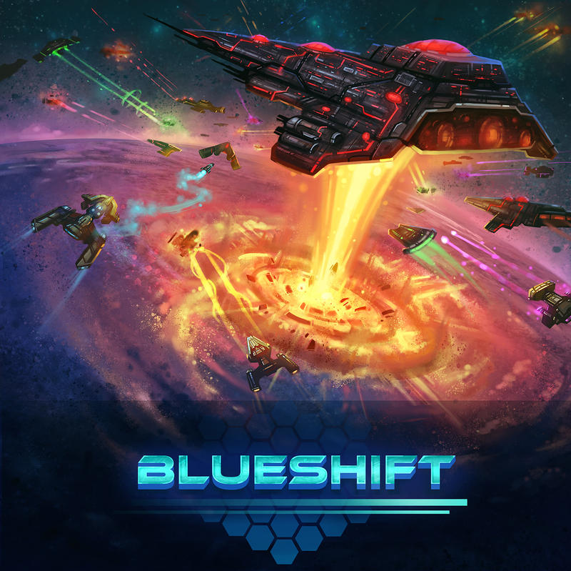 Blueshift Game Cover by antonio-panderas