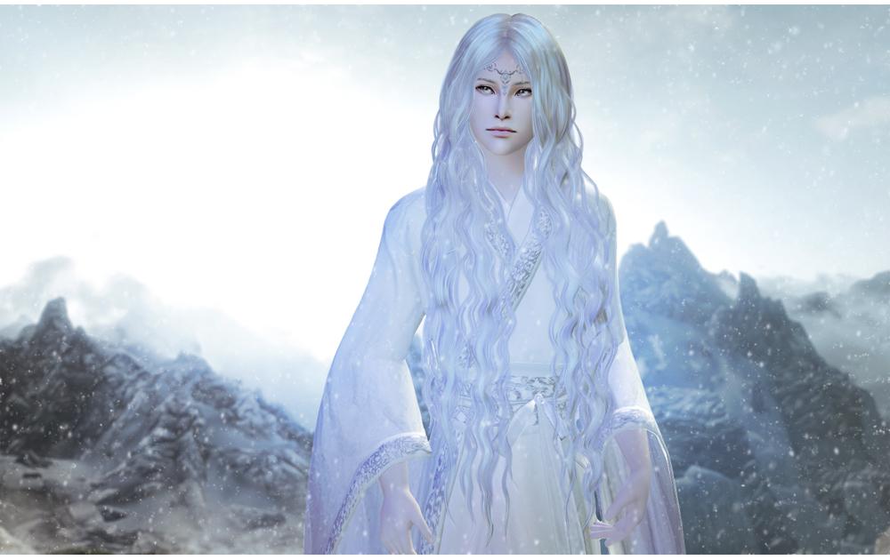 snow elf by Chloe--chan