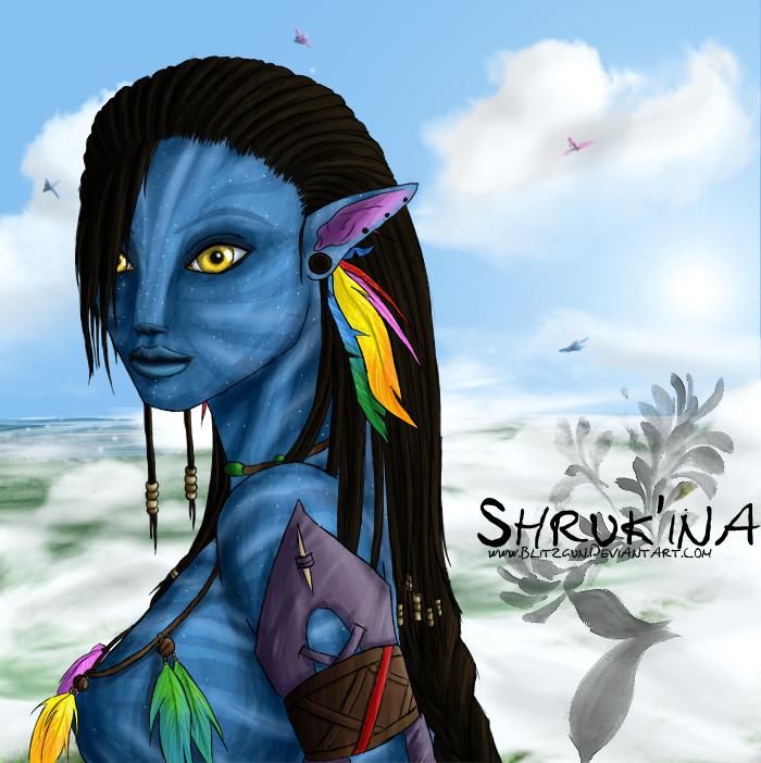 Navi Avatar: Na'vi OC Shruk'ina By Blitzgun On DeviantArt