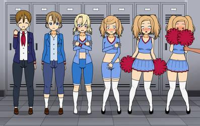 Girl's Locker Room TG Sequence by NaughtyNymphNatalie