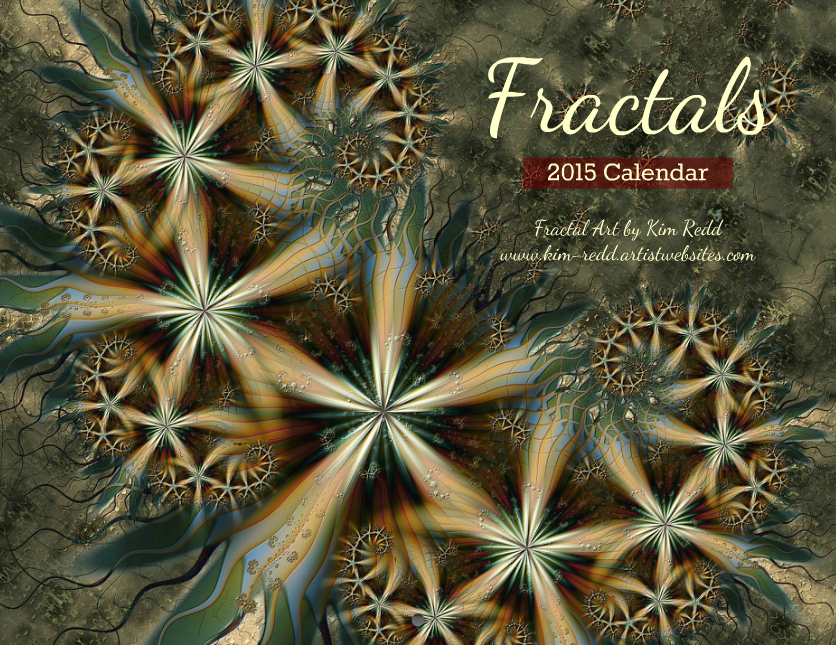 2015 Fractal Calendar by beautifulchaos1