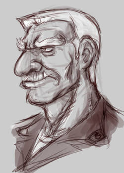 ZENITH-Foma Head Sketch
