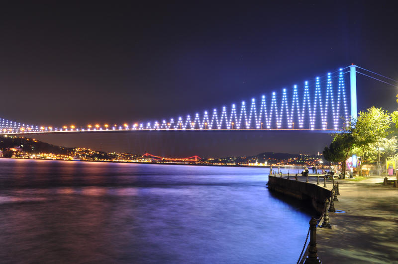 Bosphorus Bridge by aydnahmet