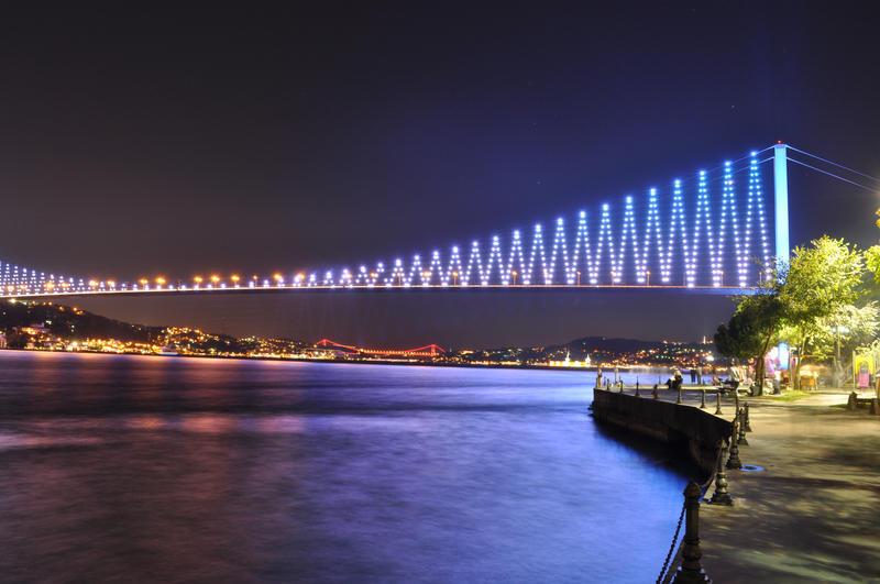 Bosphorus Bridge by aydnahmet
