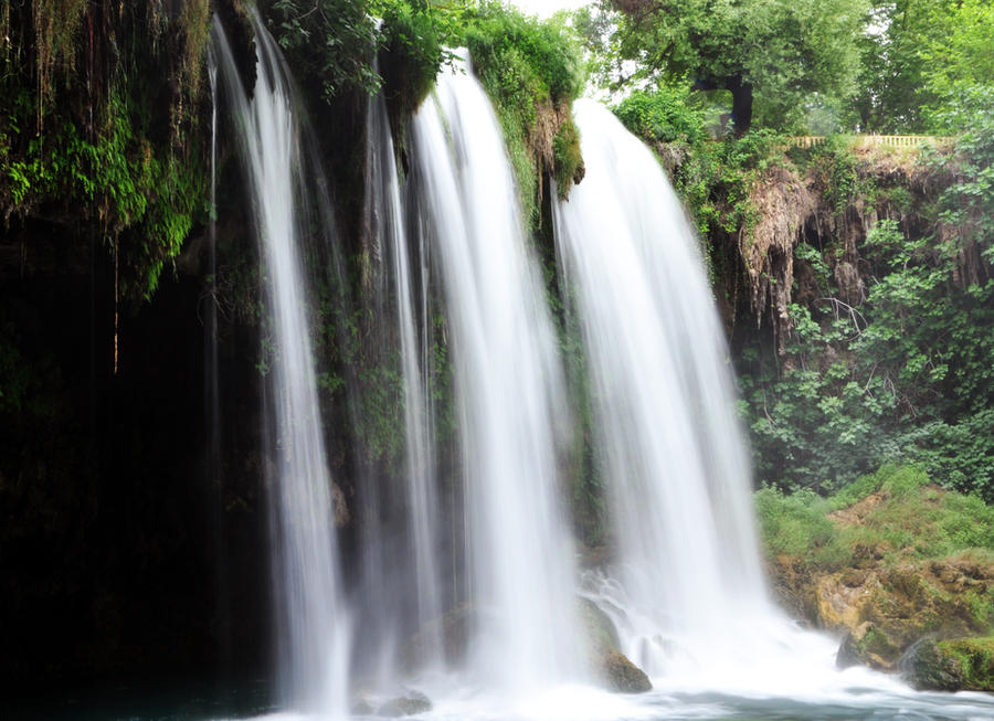 Waterfall Duden Antalya by aydnahmet