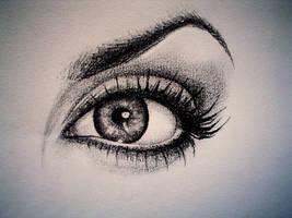 angelina jolie's eye