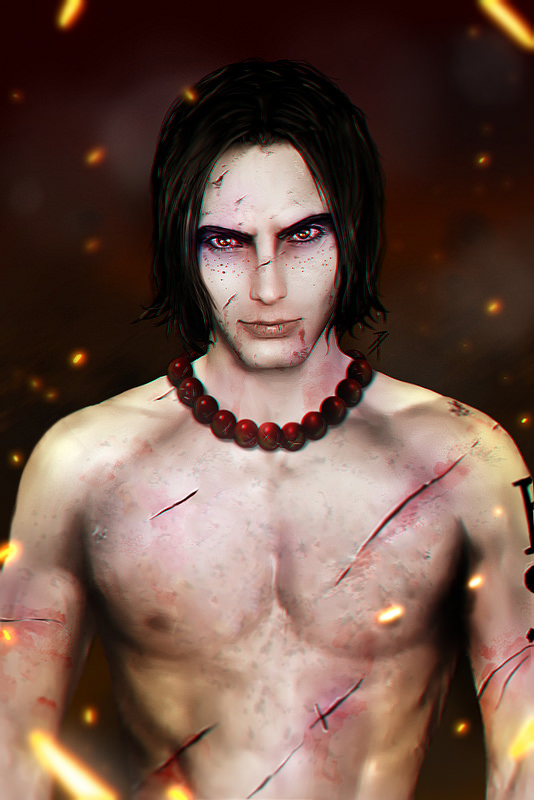 Portagas D. Ace by minuspower