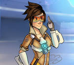 Tracer Overwatch by CloudDoodle