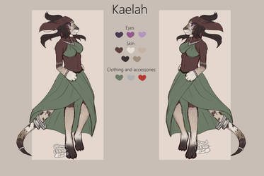 Kaelah by CloudDoodle