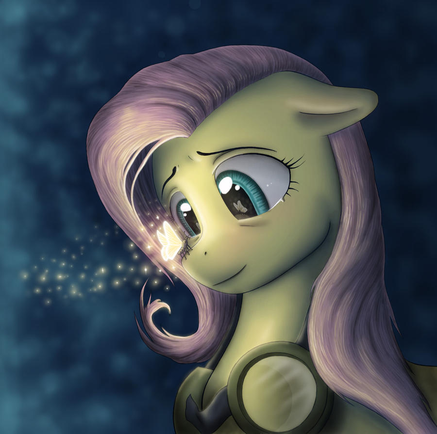 Fluttershy's Spirit by AnaduKune